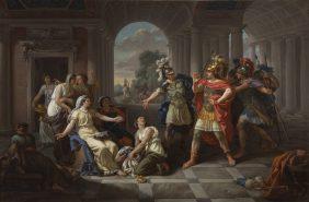 Tarquin's Sons Admiring Lucretia's Virtue