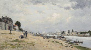 Stanislas Lépine, Les bords de Seine entre Bercy et Ivry, Paris