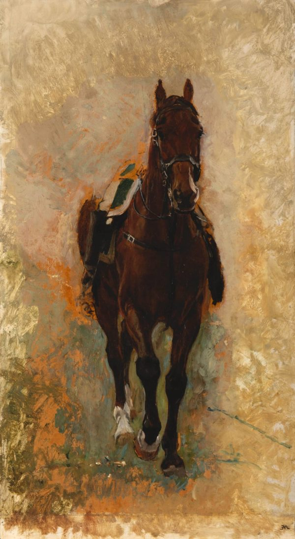 Ernest Meissonier, Le cheval du guide, armées de Napoléon