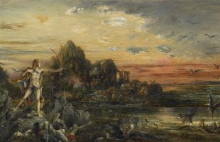 Hercule au lac Stymphale