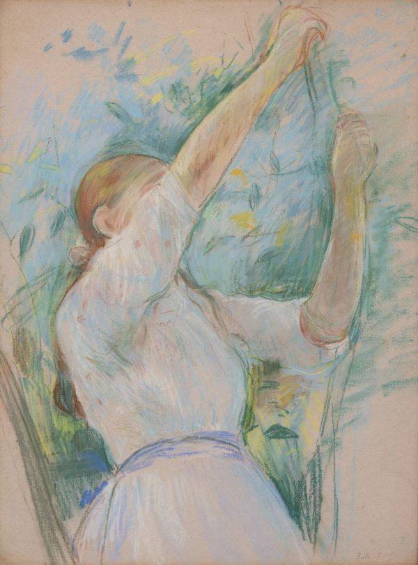 Julie Manet cueillant des cerises