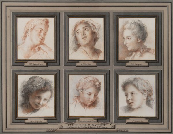 Jean-Marc Nattier, Portraits of the Artist's Wife and Four Children