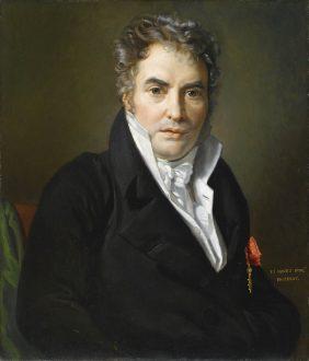 Portrait of Jacques Louis David