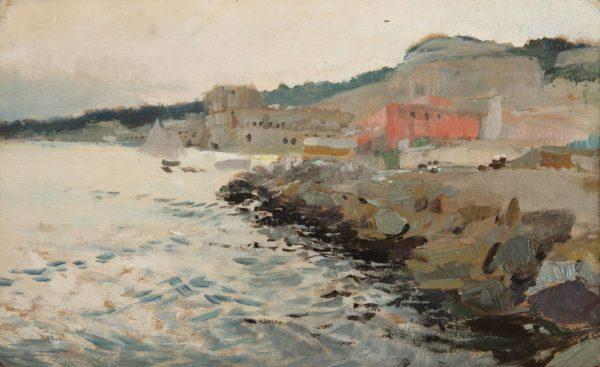 Giuseppe de Nittis, View of the Coast of Pausilippe, Naples