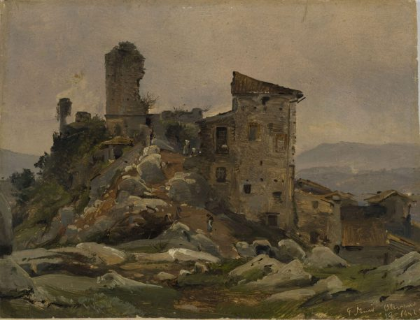 Palazzo Colonna, Olevano Romano