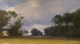 Vilhelm Petersen, Landscape near Krogerup
