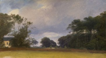 Vilhelm Petersen, Paysage près de Krogerup