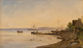 Vilhelm Petersen, Village de Pêcheurs à Hornbeck