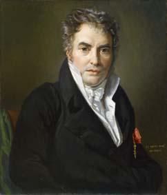 Portrait de Jacques Louis David, par Navez