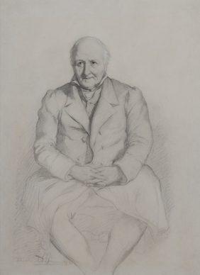 Portrait of Baron Charles de Buus d'Hollebèke Father-in-law of the Vicomte de Ranchicourt