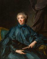 Portrait of Marie Rose Larlan de Rochefort Marquise de Nétumières