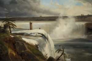 Vue des chutes de Niagara