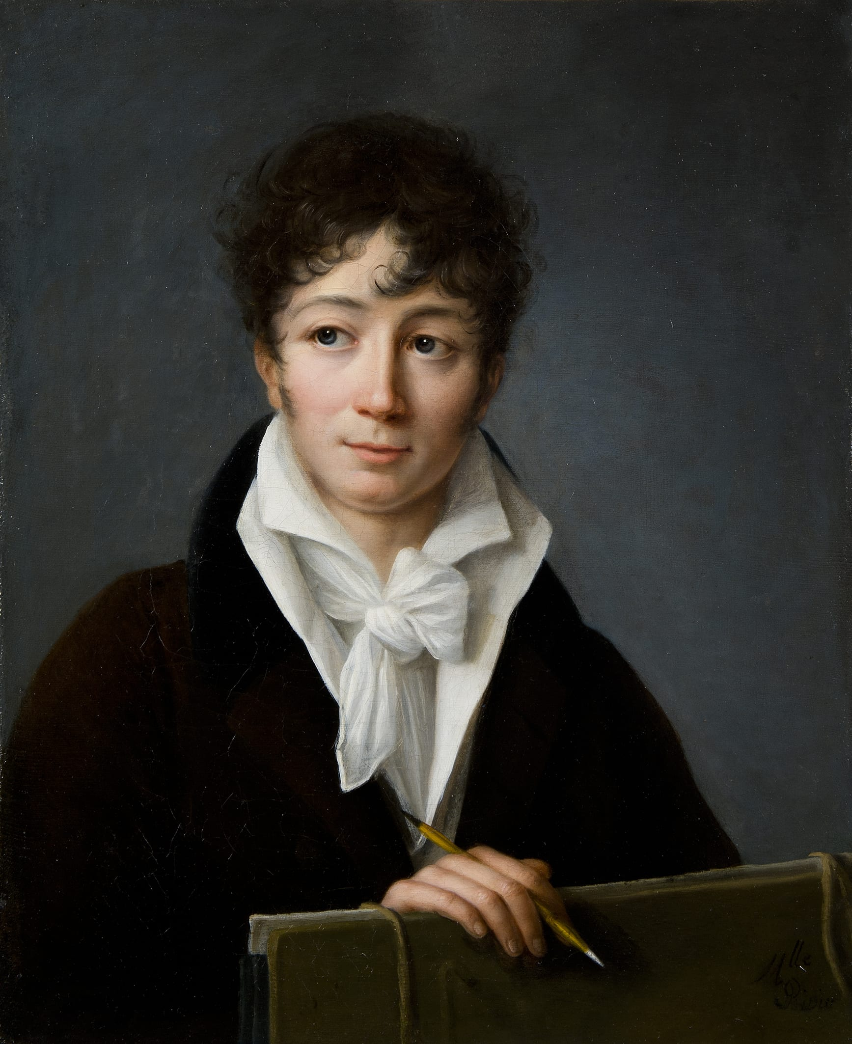 Portrait d'un jeune artiste