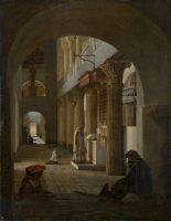 Internal view of San Lorenzo Fuori Le Mura, Roma