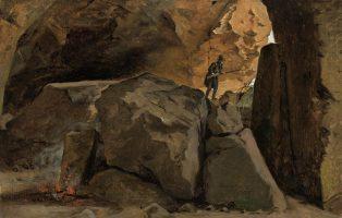 A Hunter's Lair, Cervara 1835