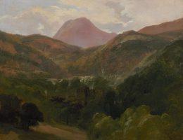 Vue du Puy de Dôme et de Royat