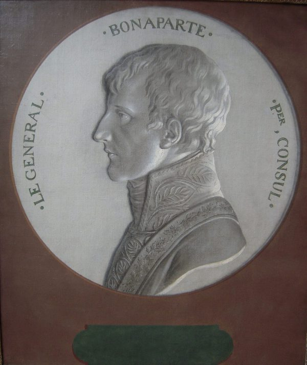 A Trompe-l'oeil Portrait of Napoleon Bonaparte as First Consul