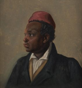 Franz August Schubert, Portrait of a Man of Colour