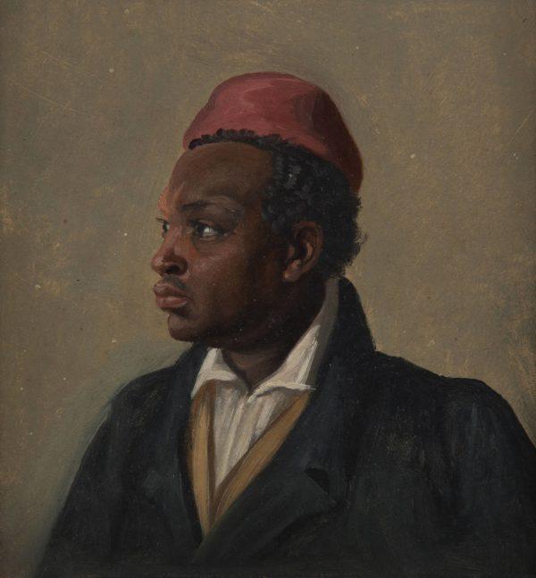 Franz August Schubert, Portrait of a Man of Colour