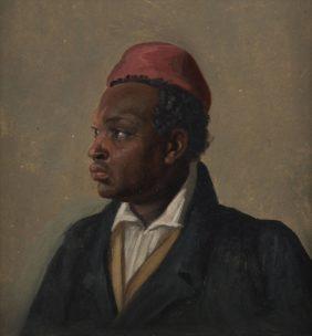 Franz August Schubert, Portrait d'un homme de couleur