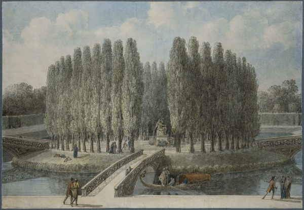 Project of a Monument for Jean-Jacques Rousseau at the Jardin des Tuileries