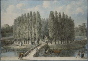Projet de monument pour Jean-Jacques Rousseau au jardin des Tuileries