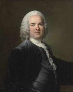 Portrait de jeune homme, par Louis Tocqué