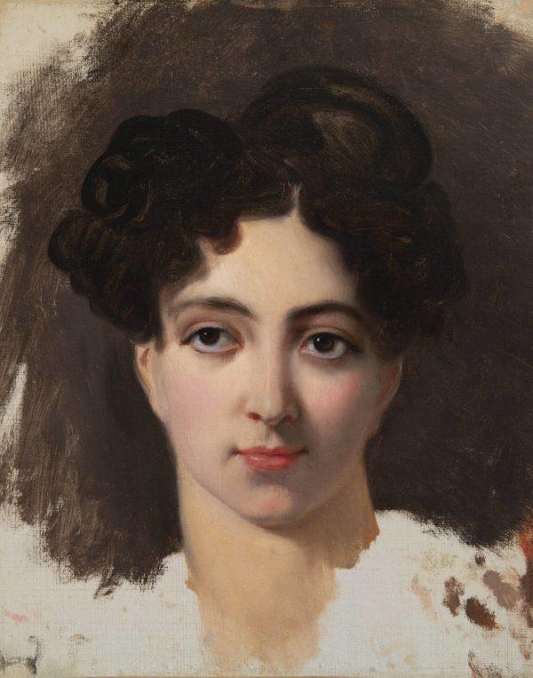 Horace Vernet, Portrait de Mademoiselle Mars